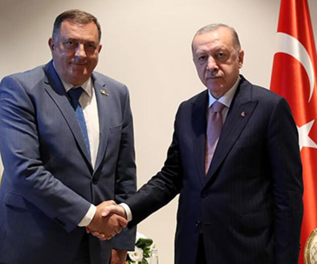 Son dakika: Cumhurbaşkanı Erdoğan, Bosna-Hersek Devlet Başkanlığı Konseyi üyeleriyle görüştü