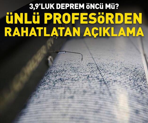 Son dakika: Prof. Dr. Ercan'dan rahatlatan açıklama
