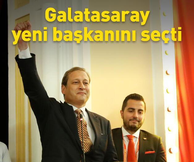 Son dakika: Galatasaray yeni başkanını seçti