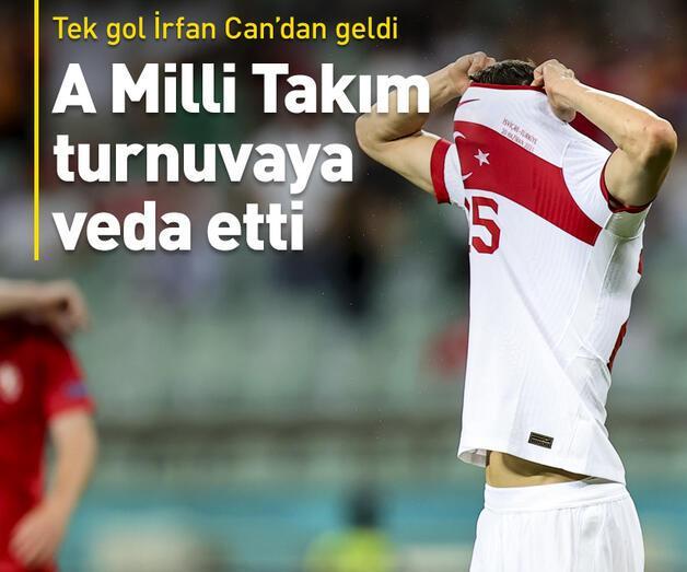 Son dakika: EURO 2020'ye veda ettik