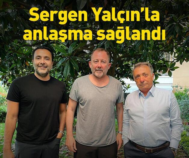 Son dakika: Sergen Yalçın Beşiktaş'la anlaştı