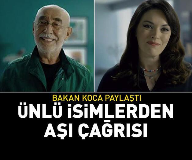 Son dakika: Şener Şen ve Ezgi Mola'dan aşı çağrısı