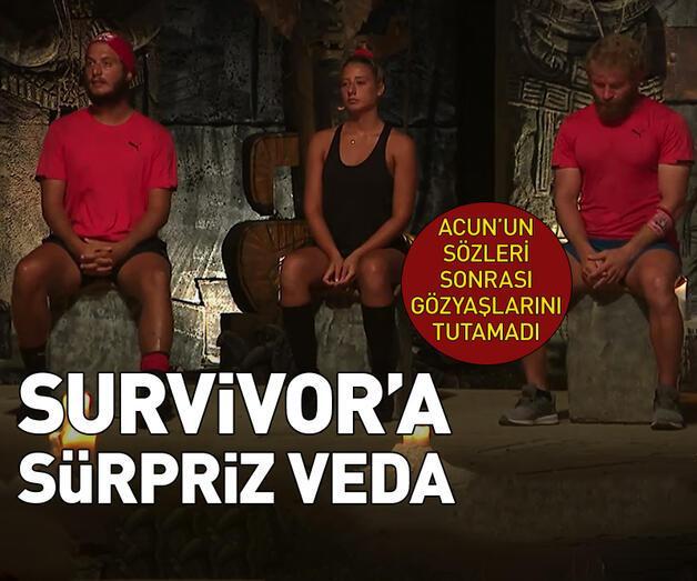 Son dakika: Survivor'a sürpriz veda