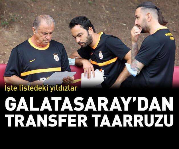 Son dakika: Galatasaray'dan transfer taarruzu!