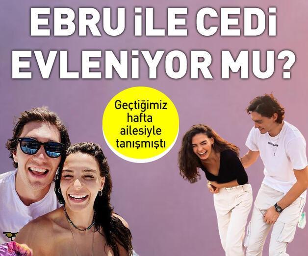 Son dakika: Ebru Şahin ve Cedi Osman evleniyor mu?