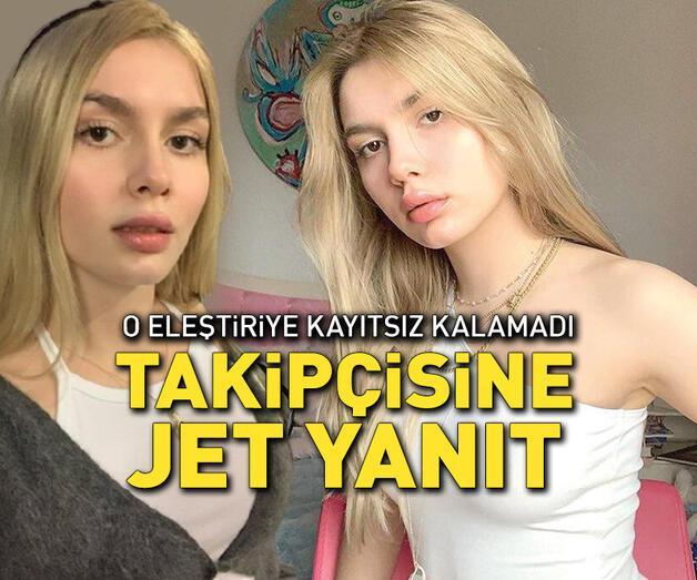 Son dakika: Aleyna Tilki'den kendisini eleştiren takipçisine jet yanıt