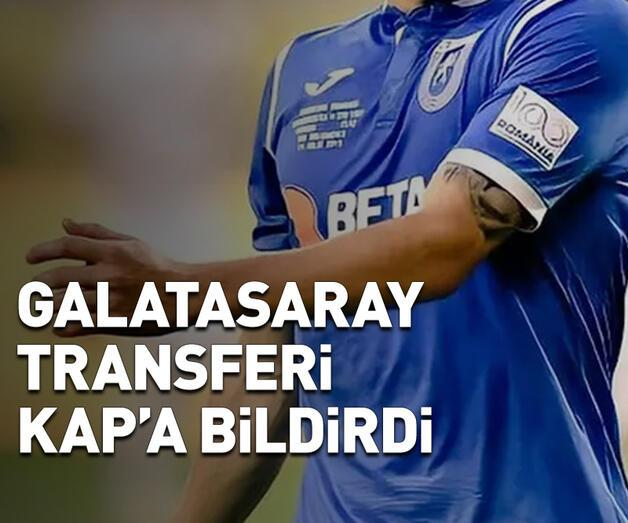 Son dakika: Galatasaray transferi KAP'a bildirdi