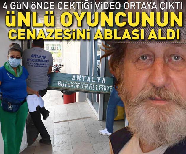 Son dakika: Oyuncu Levent Aykul'un cenazesini ablası aldı