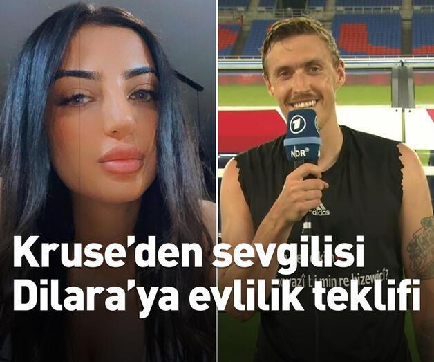Son dakika: Max Kruse sevgilisi Dilara Mardine'ye evlenme teklifi etti