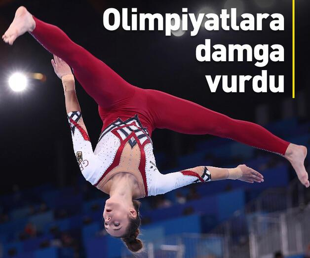 Son dakika: Olimpiyatlara damga vurdu