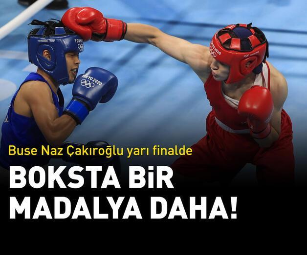 Son dakika: Buse Naz Çakıroğlu madalyayı garantiledi!