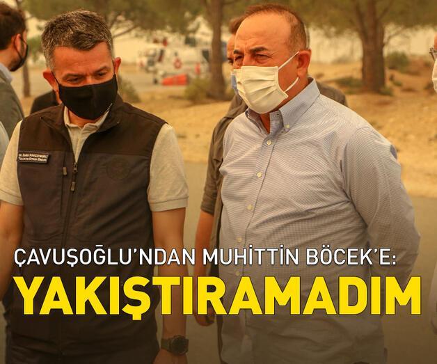 Son dakika: Çavuşoğlu'ndan Muhittin Böcek'e: Yakıştıramadım