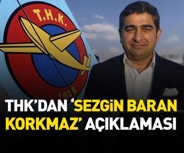 Son dakika: THK'dan 'Sezgin Baran Korkmaz' açıklaması