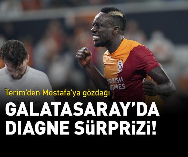 Son dakika: Galatasaray'da Terim'den Diagne sürprizi!