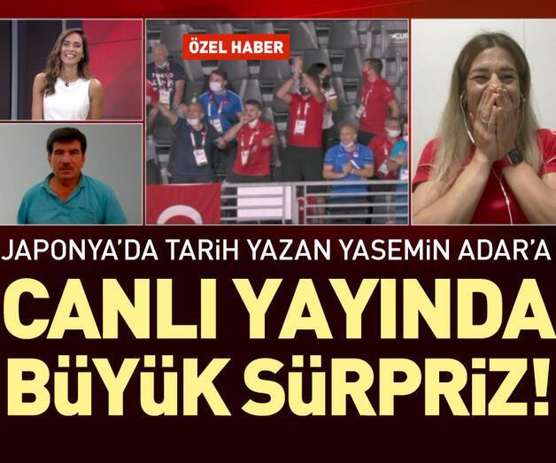 Son dakika: Madalya kazanan ilk Türk kadın güreşçi Yasemin Adar CNN TÜRK canlı yayınında duygu dolu anlar yaşadı