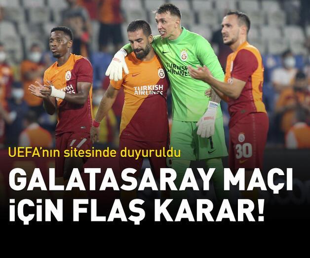 Son dakika: St. Johnstone - Galatasaray maçı için flaş karar!