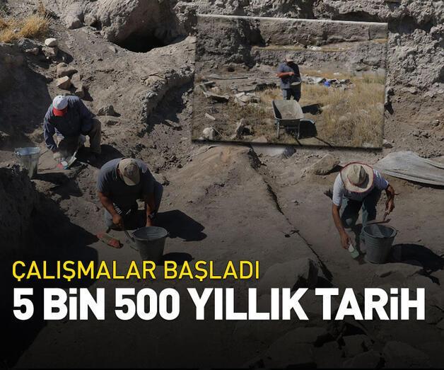 Son dakika: 5 bin 500 yıllık tarih!