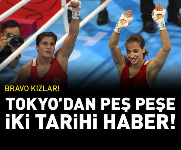 Son dakika: Buse Naz Çakıroğlu ve Busenaz Sürmeneli Tokyo 2020'de finale kaldı!