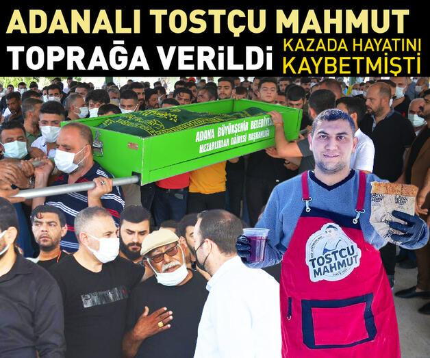 Son dakika: Adanalı 'Tostçu Mahmut' kazada yaşamını yitirdi: Son yolculuğuna uğurlandı