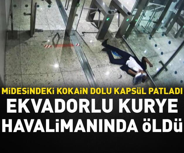 Son dakika: Ekvadorlu kurye İstanbul Havalimanı'nda öldü