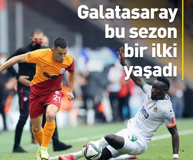 Son dakika: Galatasaray bu sezon ilki yaşadı
