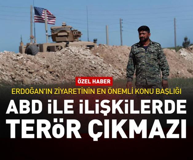 Son dakika: ABD ile ilişkilerde terör çıkmazı