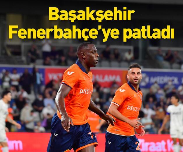 Son dakika: Fenerbahçe Başakşehir'e 2 golle yenildi