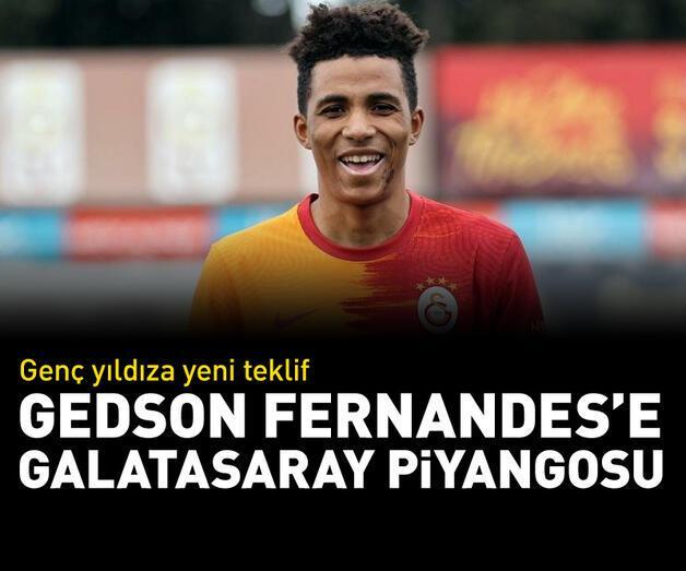 Son dakika: Gedson Fernandes'e Galatasaray piyangosu!