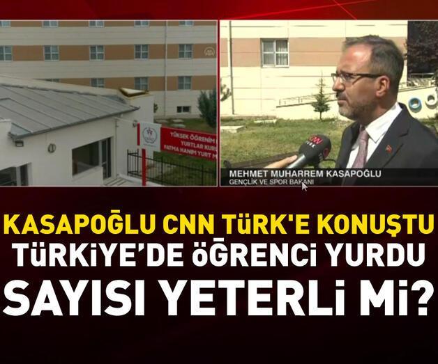 Son dakika: Kasapoğlu CNN TÜRK'e konuştu