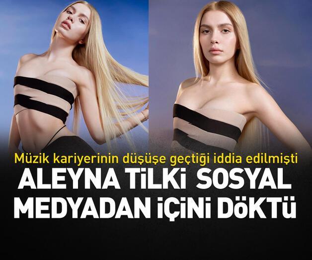 Son dakika: Aleyna Tilki müzik kariyerinin düşüşe geçtiğine dair iddialara cevap verdi