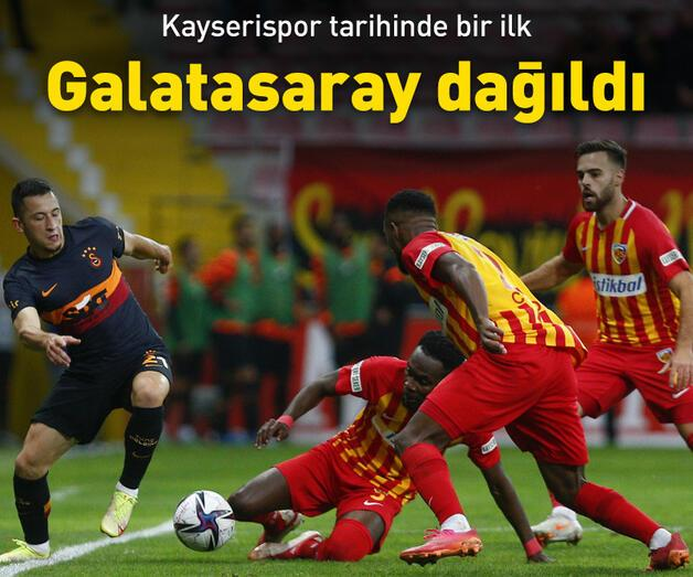 Son dakika: Galatasaray dağıldı