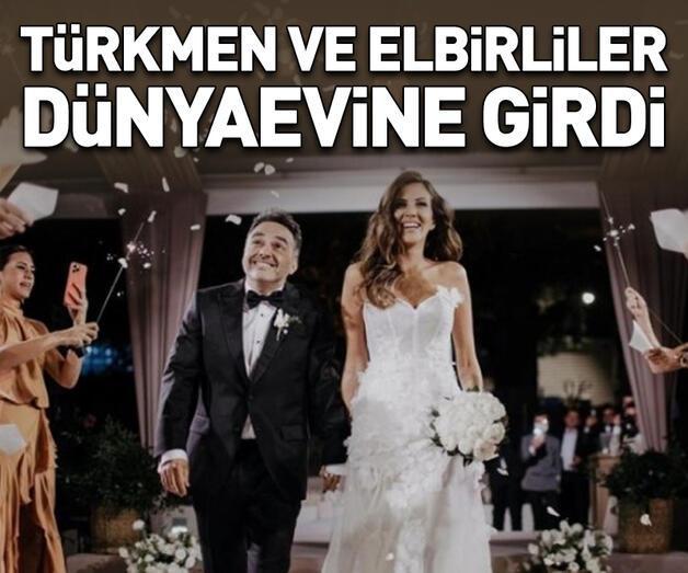 Son dakika: Arda Türkmen ve Melodi Elbirliler evlendi