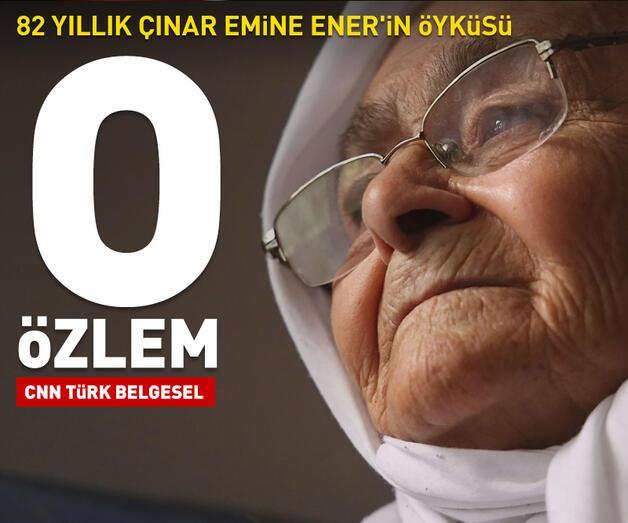 Son dakika: 82 yıllık Çınar Emine Ener'in öyküsü