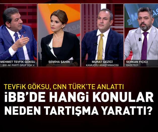 Son dakika: Mehmet Tevfik Göksu, CNN TÜRK'te