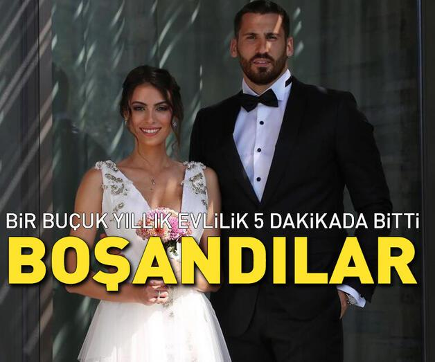 Son dakika: Ezgi Avcı ile Nemanja Drusiric 5 dakikada boşandı