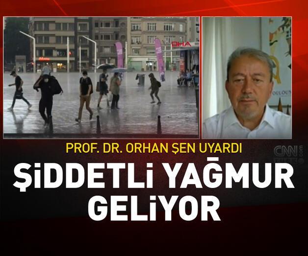 Son dakika: İstanbul'a yağmur geliyor
