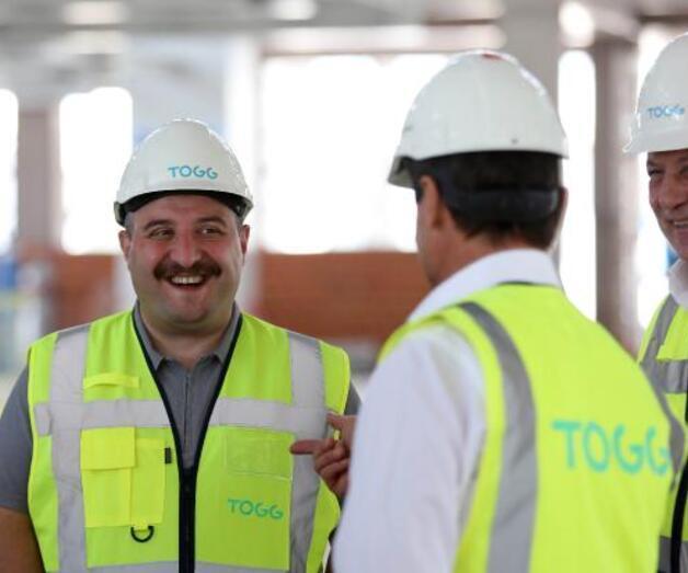 Son dakika: Bakan Varank'tan, TOGG'un üretim tesisi inşaatında inceleme