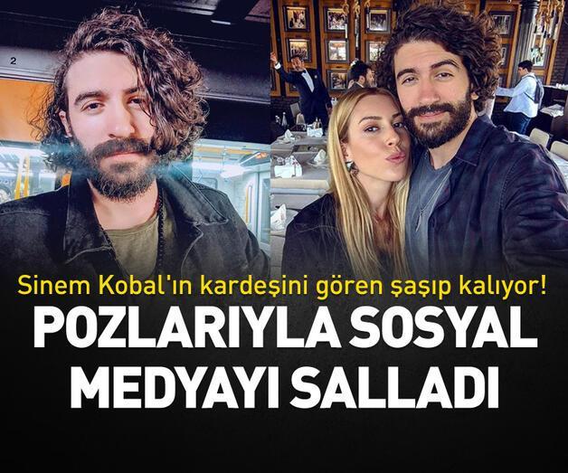 Son dakika: Sinem Kobal'ın kardeşini gören şaşıp kalıyor!
