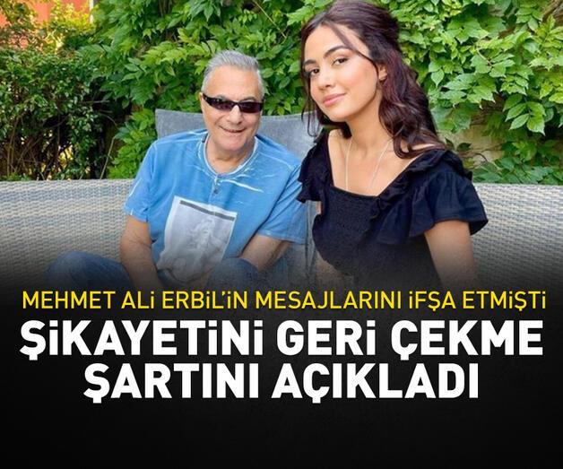Son dakika: Ece Ronay, Mehmet Ali Erbil hakkındaki şikayetini geri çekme şartını açıkladı
