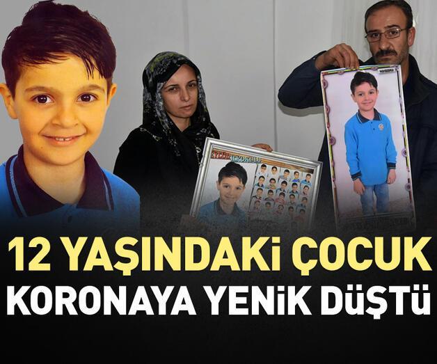 Son dakika: İzmir'de 12 yaşındaki çocuk koronavirüse yenik düştü