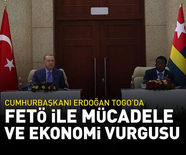 Son dakika: Cumhurbaşkanı Erdoğan'dan Togo'da açıklama