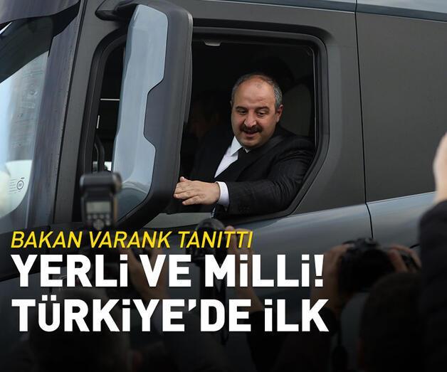 Son dakika: Bakan Varank, Türkiye'nin ilk yerli ve milli şanzımanını tanıttı