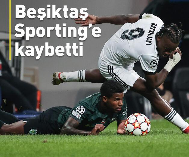Son dakika: Beşiktaş ilk kez 4 golle mağlup oldu