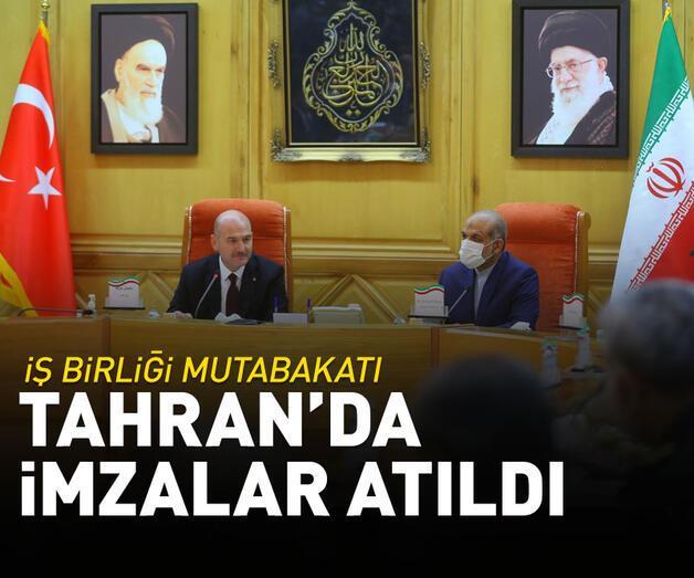 Son dakika: Türkiye ile İran arasında güvenlik alanında iş birliği mutabakatı imzalandı