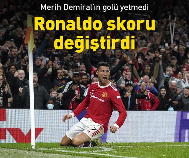 Son dakika: Merih Demiral'ın golü yetmedi