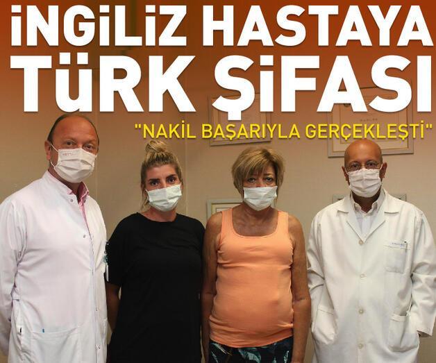 Son dakika: İngiliz hastaya Türk şifası