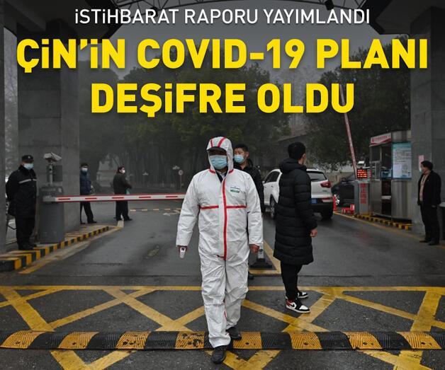 Son dakika: Çin'in COVID-19 planı deşifre oldu