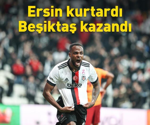 Son dakika: Derbiyi Beşiktaş kazandı