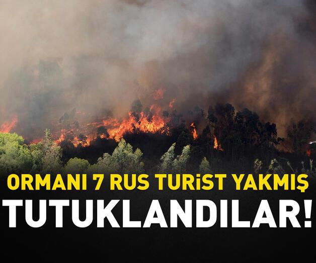 Son dakika: Antalya'da orman yangınına neden oldukları iddiasıyla 7turisttutuklandı