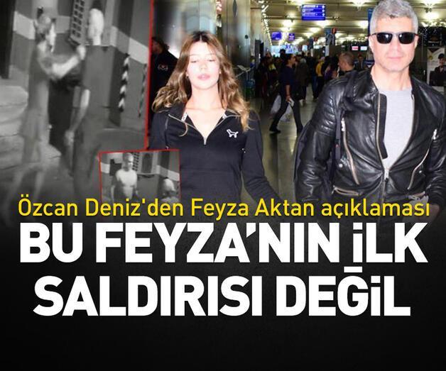 Son dakika: Özcan Deniz'den Feyza Aktan açıklaması: Bu ilk saldırı değil!